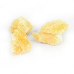 rumeni kalcit, naravni kristal