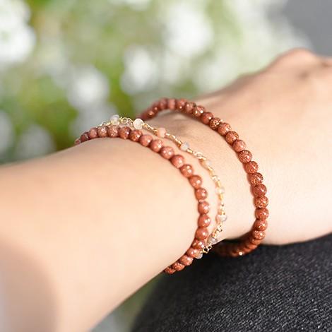 sunstone, energy bracelet, healing power of crystal
