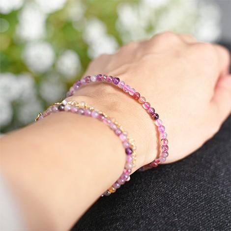 amethyst geotite bracelet, crystal shop