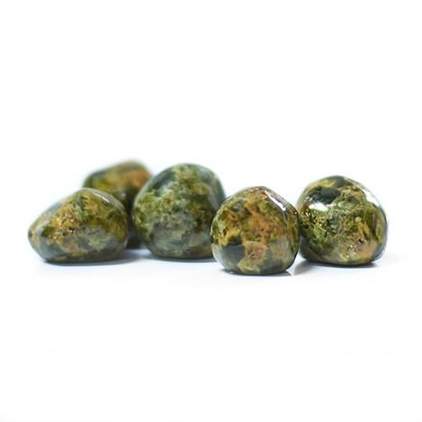 green garnet, crystal shop, pocket gemstone