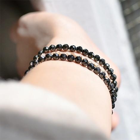 black tourmaline energy bracelet, crystal shop