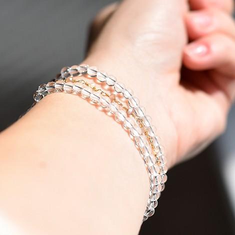 clear quartz energy bracelet, crystal shop, vitality