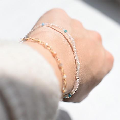 beril hand made energy bracelet, crystal shop