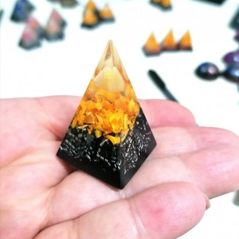 citrin orgonit piramida, zaščita pred sevanjem 5g, zaščita za dom, energija, uspeh