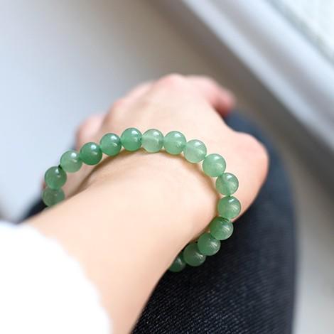 zeleni aventurin, kristal sreče in uspeha, trgovina s kristali, energijski nakit