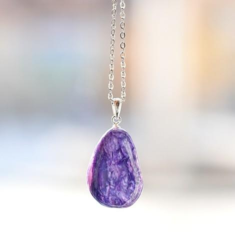 kristal čaroit, energijski nakit, trgovina s kristali