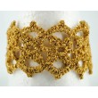 kvačkana zapestnica zlata