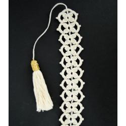 Unique crochet bookmark, book lovers gift, handmade