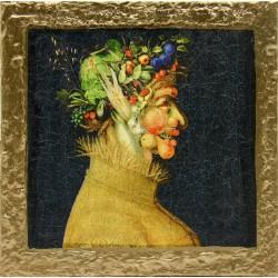 slika v okvirju Reprodukcija Giuseppe Arcimboldo decoupage