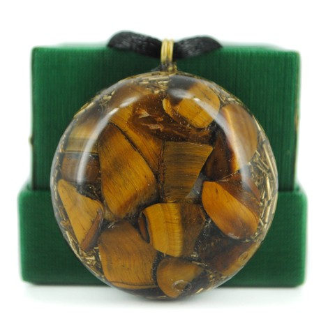 tiger's eye orgonite