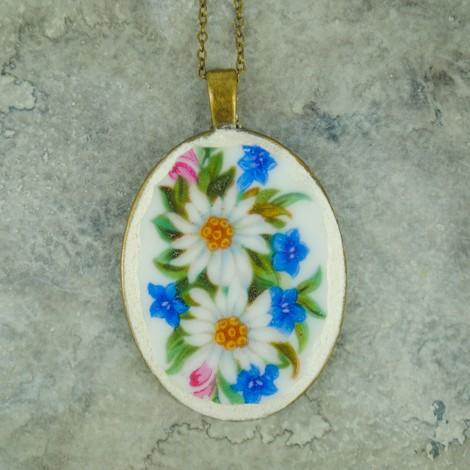 ogrlica iz črepinj nakit
