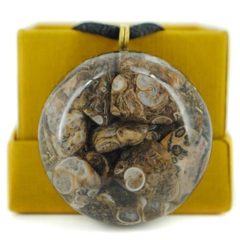 orgonit ogrlica leopard jaspis