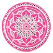 mandala pink