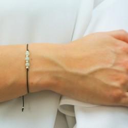 friendship bracelet aquamarine