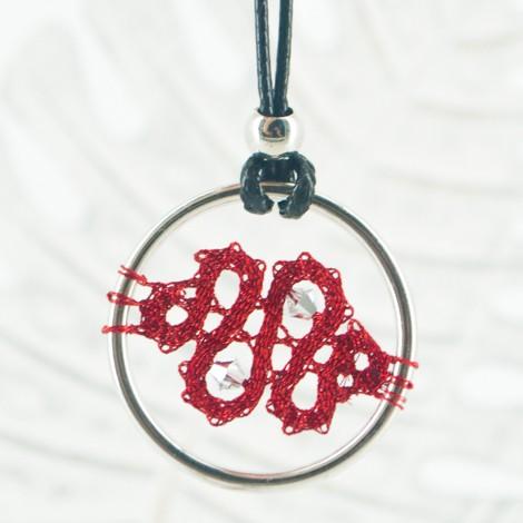 ogrlica čipka