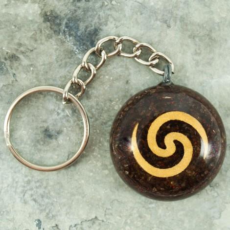 orgonit obesek za ključe, malo darilo, pozornost, dober namen, orgonska energij