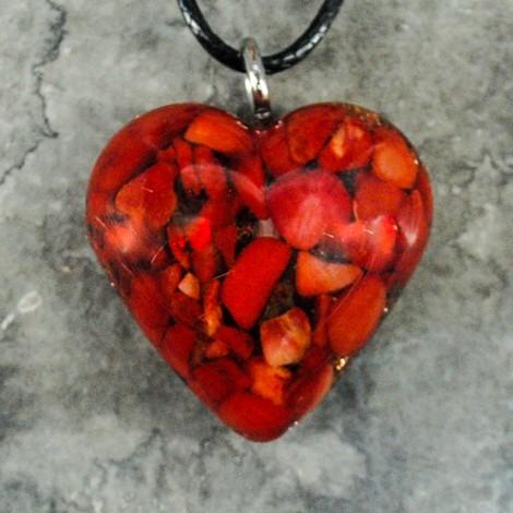 orgonit korala srce