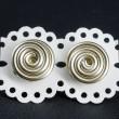 mini aluminium earrings