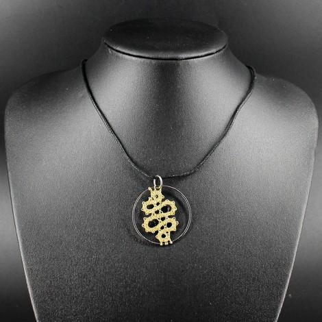 ogrlica, čipka, zlata