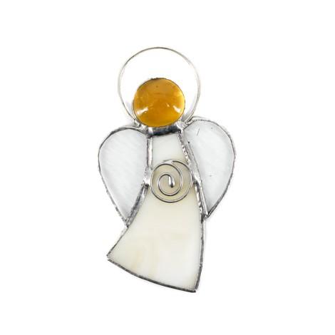 vitraž tehnika, angel varuh