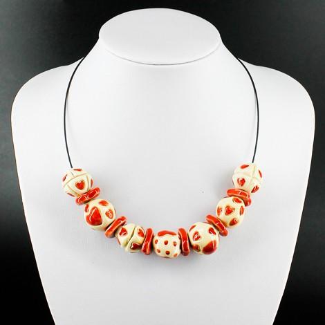 keramična ogrlica