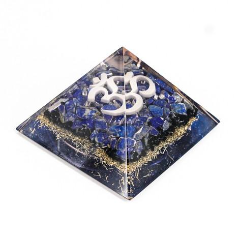 Orgonit, piramida, lapis lazuli