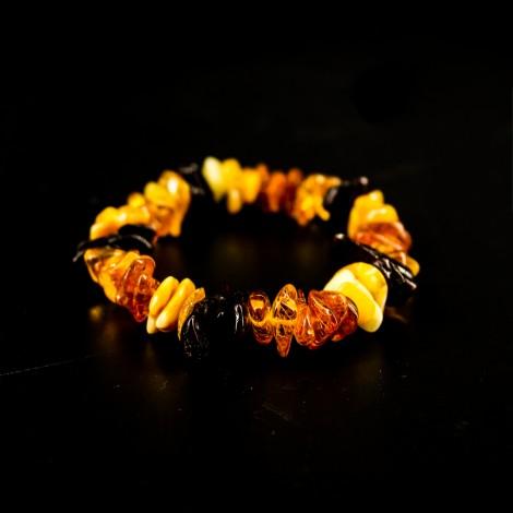 Amber bracelet, energy jewelry, Baltic amber