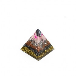 orgonite pyramid, hematite for grounding