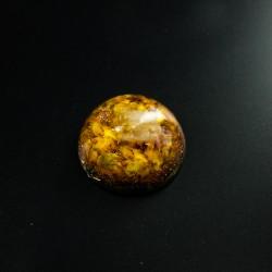 Orgonite, citrine, crystal, energetic, flourishing, pocket, self-confidence