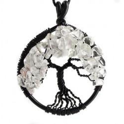 energijski nakit drevo življenja kristali kamena strela