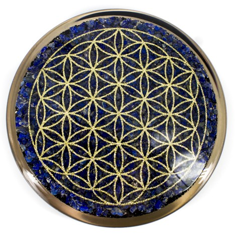 Orgonit, Lapis lazuli, Orgonitni podstavek, Zaščita, Črni turmalin, Šungit