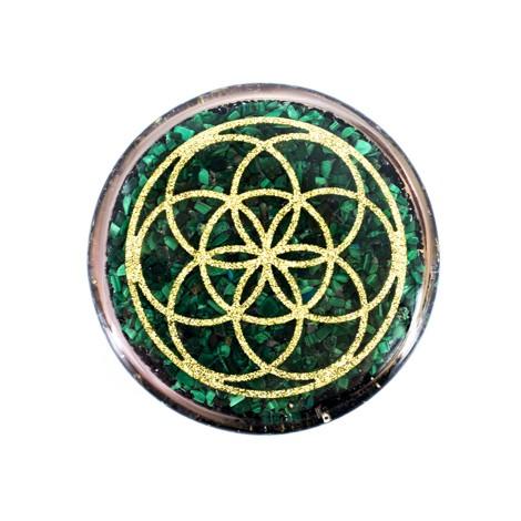Orgonitni podstavek, orgonit, zaščita, čiščenje vode, zaščita doma, kristal, kristali, malahit, črni turmalin, šungit