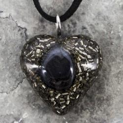 Orgonit, zaščita, obesek, nakit,hematit