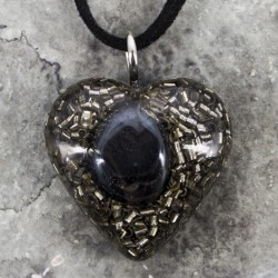 hematite, orgone, orgonite, protection, grounding hematite