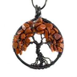 drevo življenja rdeči jaspis
