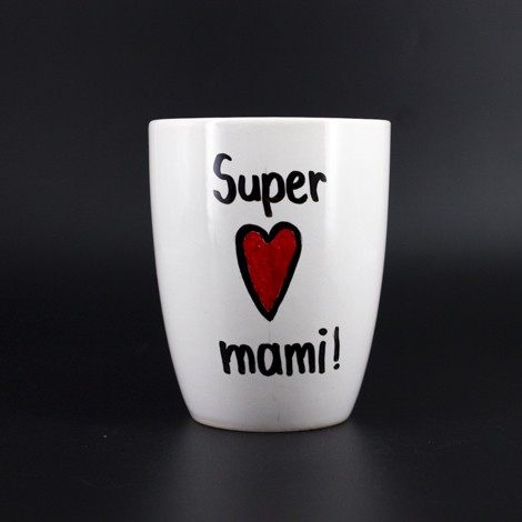 mug, super mom