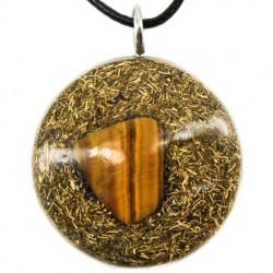 Energijski nakit orgonit tigrovo oko ogrlica
