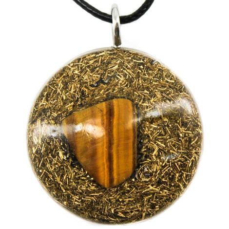 Energetski nakit orgonit tigrovo oko ogrlica