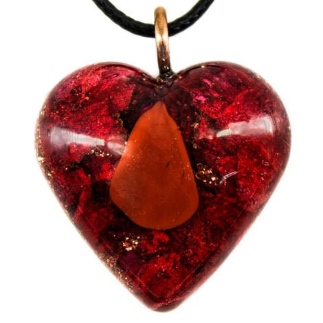 orgonite red jasper energy jewelry versatility endurance self-preservation instinct
