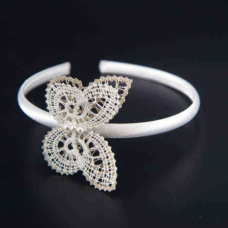 lace, ring for hair