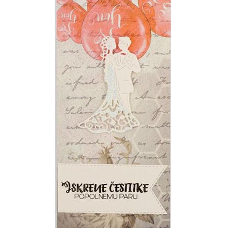 UNIQUE HANDMADE GREETING CARD for wedding