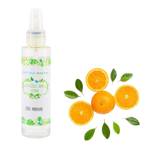 natural AIR FRESHENER citrus, invigorating scent,  natural repellent, relaxation