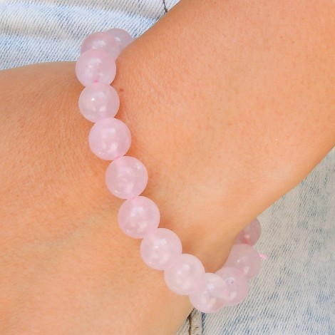 ROSE QUARTZ bracelet, energy jewelry