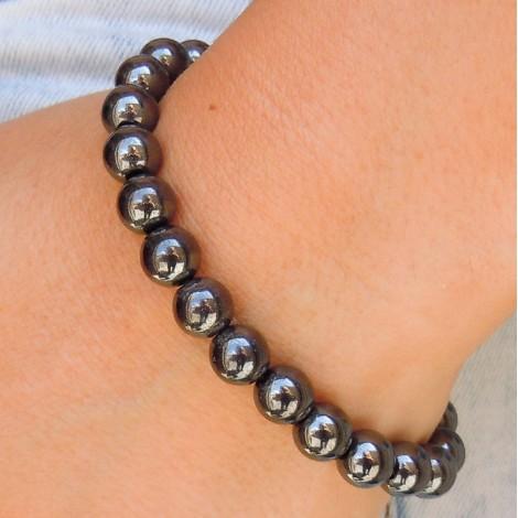 HEMATITE bracelet, energy jewelry