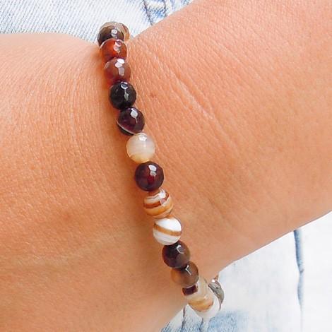 SMOKY QUARTZ bracelet, energy jewelry