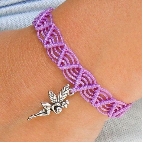 FRIENDSHIP BRACELET Fairy violet