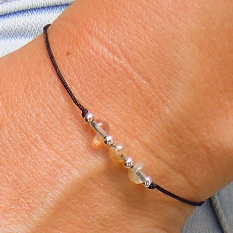 FRIENDSHIP BRACELET QUARTZ, energy jewelry