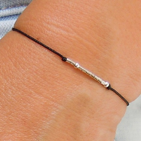 FRIENDSHIP BRACELET silver, energy jewelry