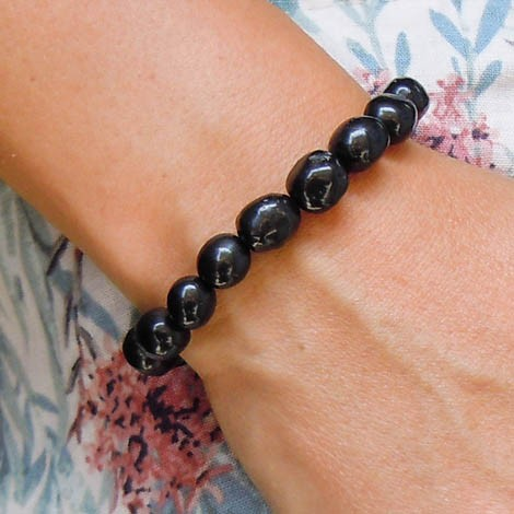 shungite bracelet energy jewelry