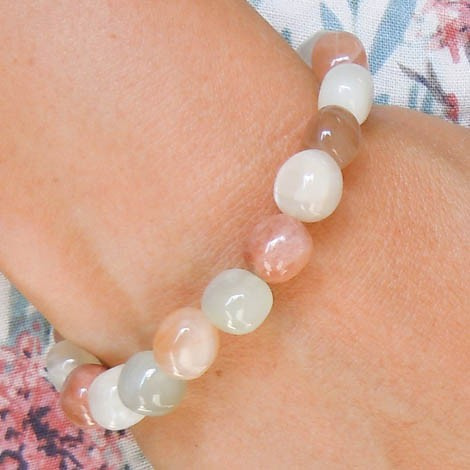 moonstone bracelet energy jewelry